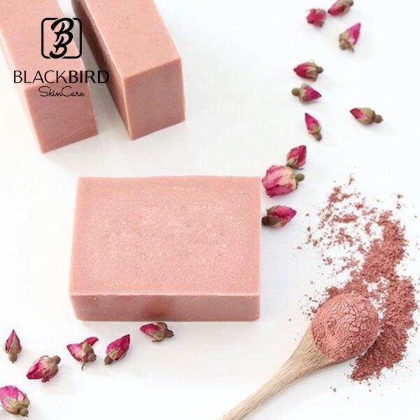 Rose Pink Clay Soap Himachal Herbal #Himachalherbal