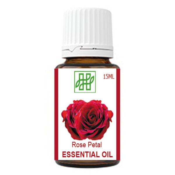 Himachal Herbal Rose Essential Oil for Face Hair Skin Glow #himachalherbal