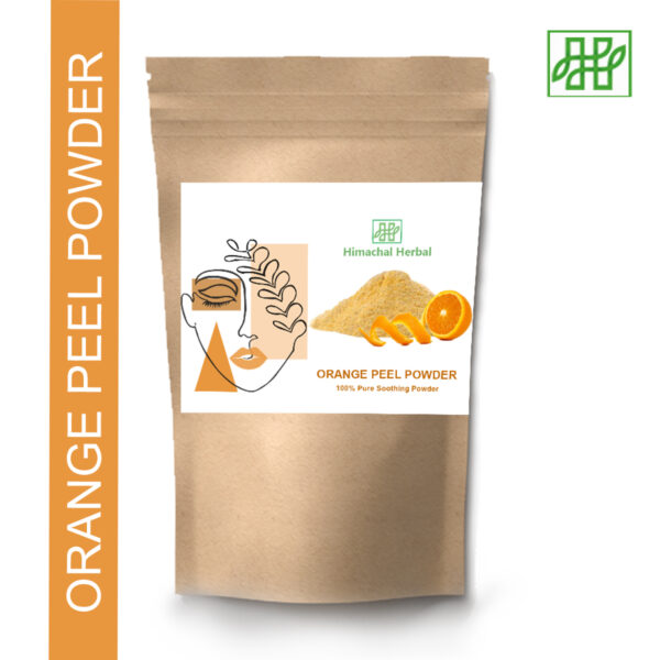 Himachal Herbal Orange Peel Powder For Cosmetic Home Remedy face pack