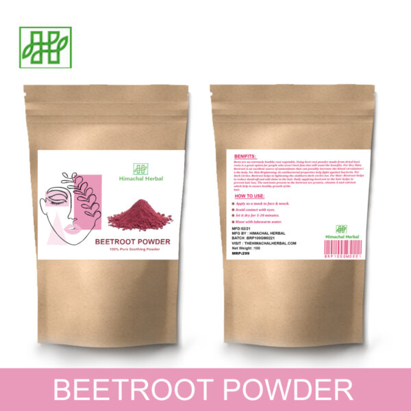 Himachal Herbal-pure Beetroot natural food Powder & Personal Health Care product (7)